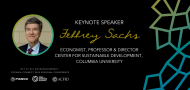 World-renowned economist Jeffrey Sachs announced as an Oceania Connect keynote speaker