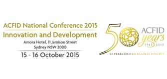 ACFID National Conference