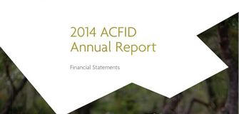 ACFID Publications - Annual Report